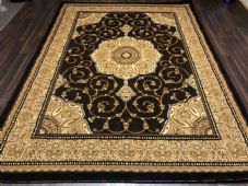 Modern Rugs Approx 9x7ft 270x220cm Woven Thick Sale Top Quality Brown New